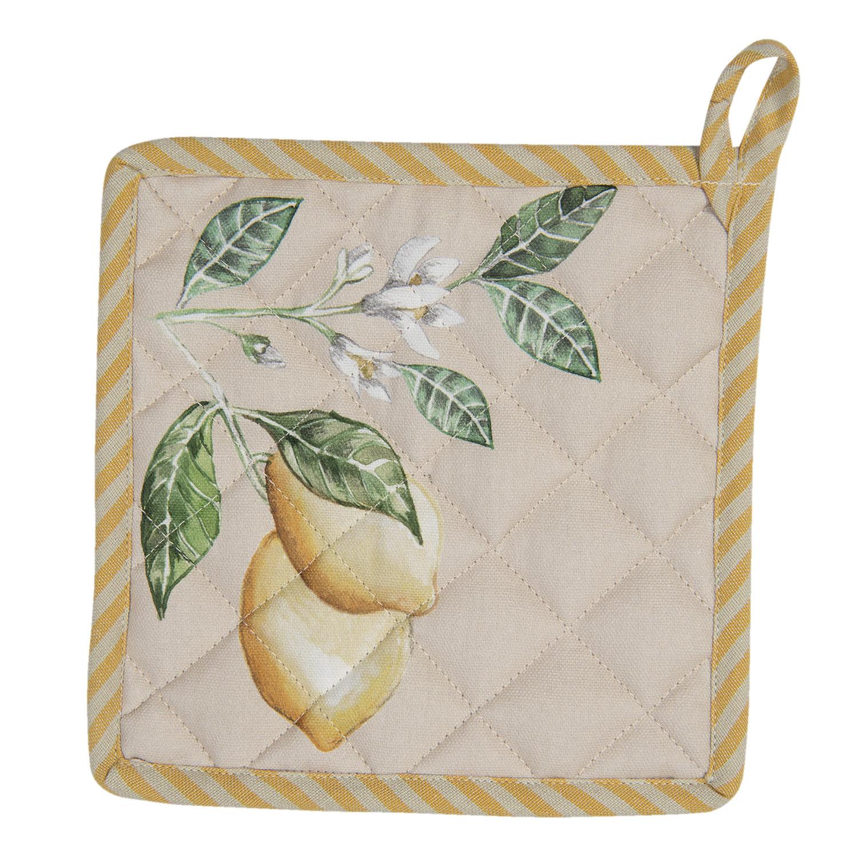 Clayre & Eef  Pannenlap  Lemons and leafs