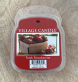 Village Candle Village Candle Fresh Strawberries Wax Melt