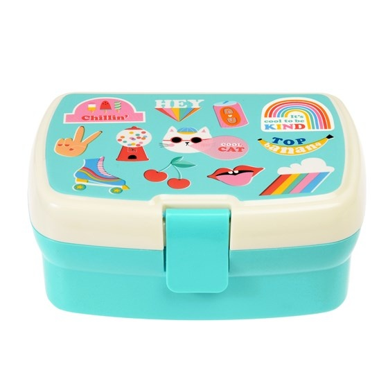 Rex London Top Banana Lunchbox met tray
