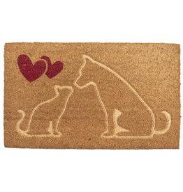 Clayre & Eef Deurmat Hond Kat.