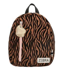 ZEBRA Backpack (S) Zebra brown
