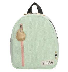 ZEBRA Backpack (S) Sparkle mint