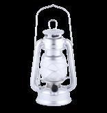 Esschert Design LED lamp lantaarn zilver