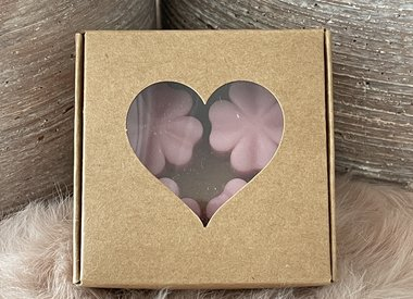 Lovely Scents waxmelts in geschenkdoosje.