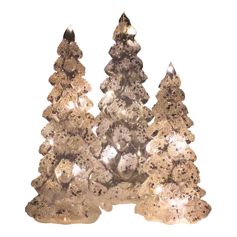 Mars & More Led dennenboom wit medium