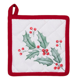 Clayre & Eef Pannenlap kind Holly Christmas