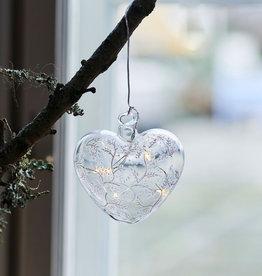 Sirius Home Cozy Heart, glass, Ø 8cm