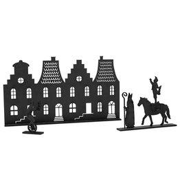 Zoedt Grachtenpandjes met Sint, paard en pietjes