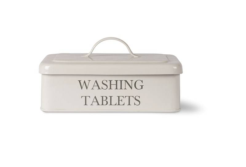 Garden Trading Wascapsules opbergbox Chalk