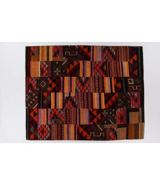 kelim patchwork tapijt 304x245 cm