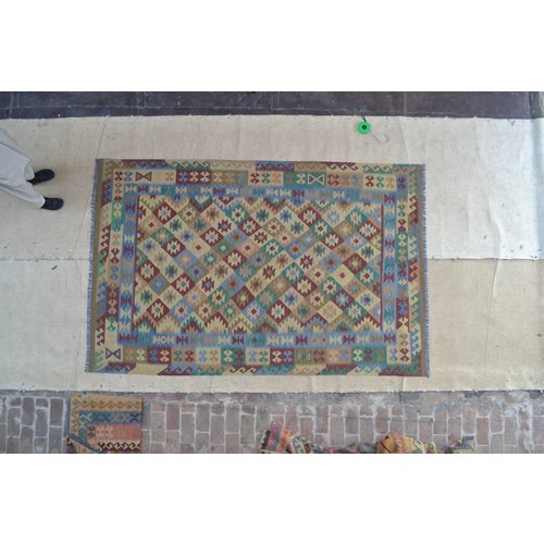 Kelimshop Kelim Tapijt 307x200 cm