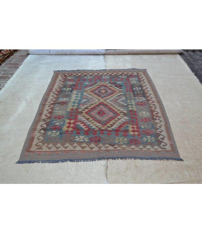kelim tapijt 199x143 cm