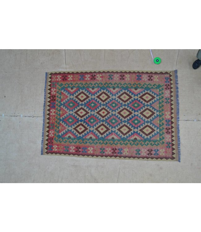 kelim tapijt 213x145 cm