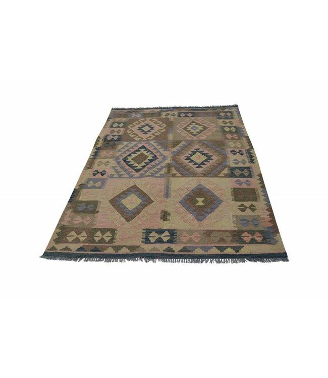 kelim tapijt 201x148 cm
