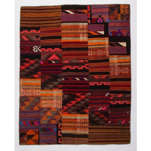 Kelimshop kelim patchwork tapijt 255x203 cm