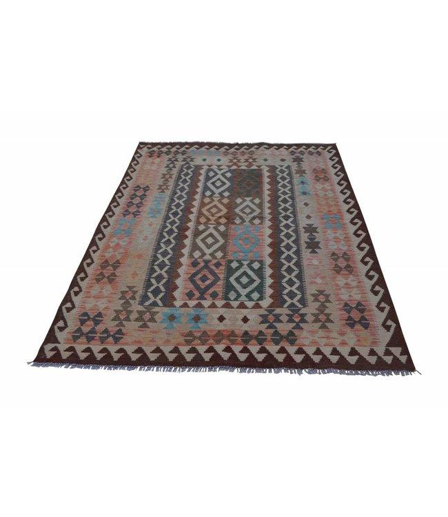 kelim tapijt 206x153 cm