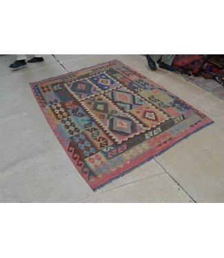 kelim tapijt 199x160 cm
