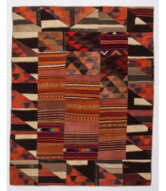 kelim patchwork tapijt 255x200 cm
