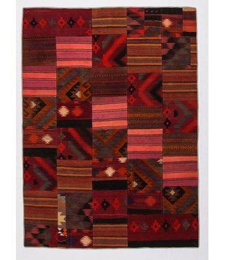 KELIMSHOP Patchwork Kilim carpet 247x181 cm