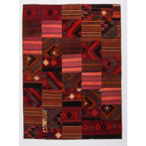Kelimshop kelim patchwork tapijt 247x181 cm