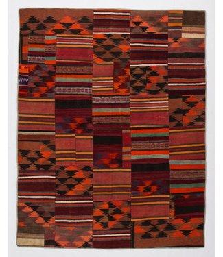 KELIMSHOP Patchwork Kilim carpet 258x200 cm