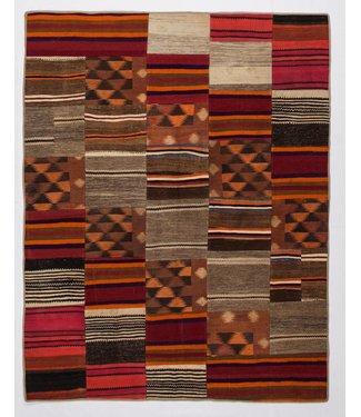 KELIMSHOP Patchwork Kilim carpet 259x204 cm