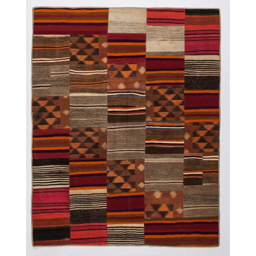 Kelimshop kelim patchwork tapijt 259x204 cm