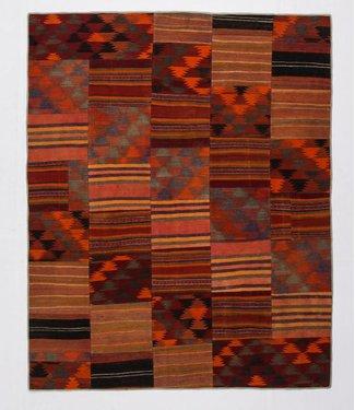 KELIMSHOP Patchwork Kilim carpet 249x202 cm