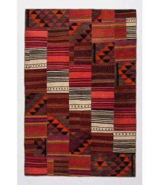 kelim patchwork tapijt 256x169 cm