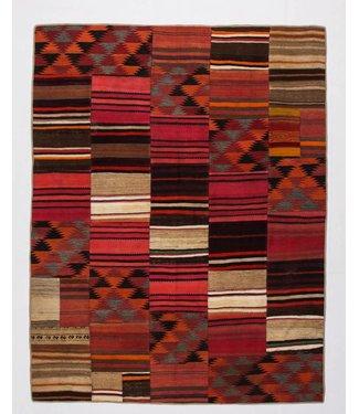 KELIMSHOP Patchwork Kilim carpet 257x200 cm