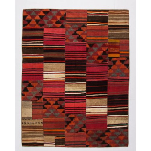 Kelimshop kelim patchwork tapijt 257x200 cm