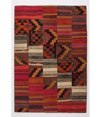 KELIMSHOP Patchwork Kilim carpet 254x173 cm