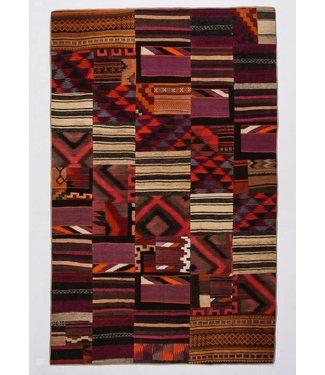 Patchwork Kilim carpet 309x196 cm