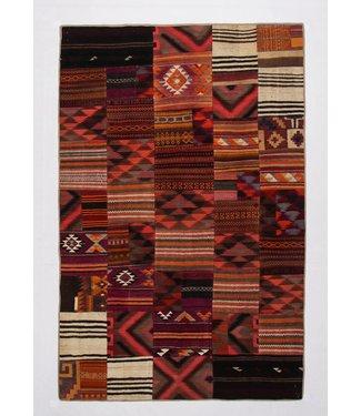 Patchwork Kilim carpet 305x201 cm