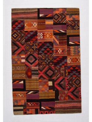 Patchwork Kelim teppich 308x200 cm