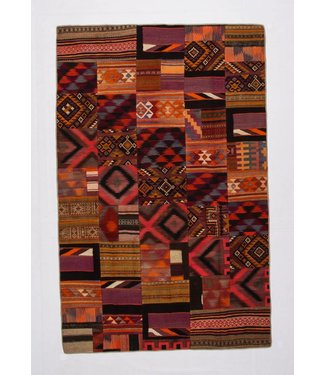 Patchwork Kilim carpet 308x200 cm