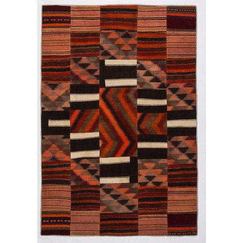 Kelimshop kelim patchwork tapijt 300x204 cm
