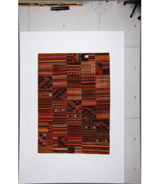 KELIMSHOP Patchwork Kilim carpet 282x200 cm