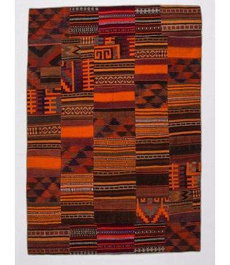 KELIMSHOP kelim patchwork tapijt 293x205 cm