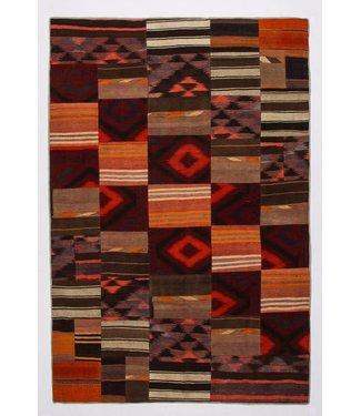 KELIMSHOP Patchwork Kilim carpet 300x201 cm