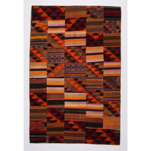 Kelimshop kelim patchwork tapijt 304x200 cm