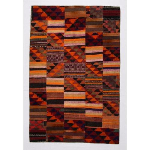 Kelimshop Patchwork Kilim carpet 304x200 cm