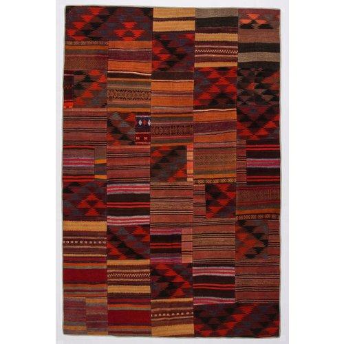 Kelimshop kelim patchwork tapijt 305x201 cm
