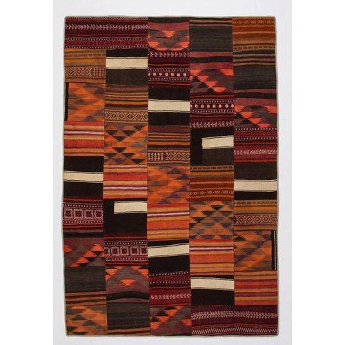 Kelimshop kelim patchwork tapijt 299x199 cm