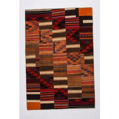 Kelimshop kelim patchwork tapijt 297x200 cm
