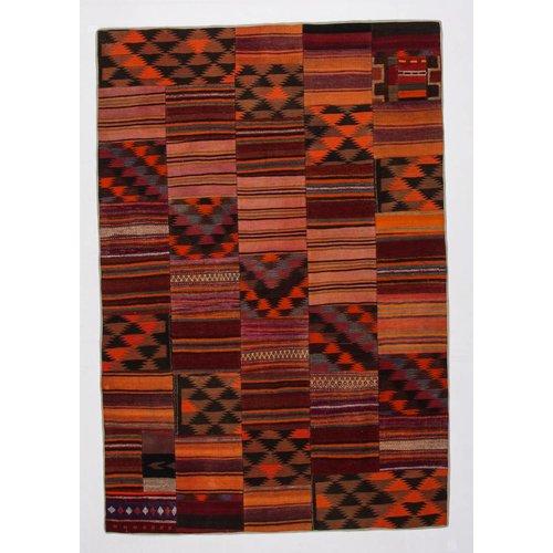 Kelimshop kelim patchwork tapijt 296x202 cm
