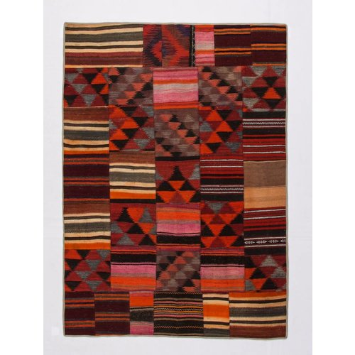 Patchwork Kelim teppich 239x171 cm