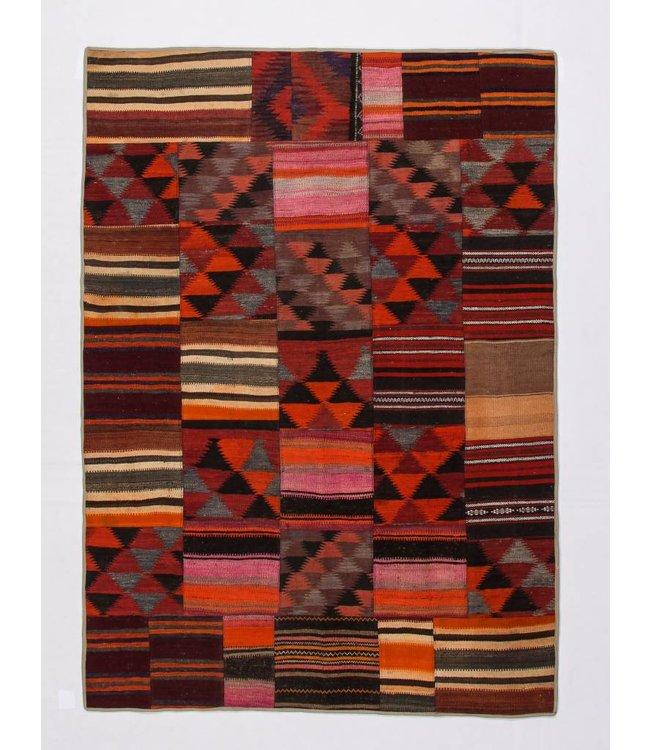 kelim patchwork tapijt 239x171 cm