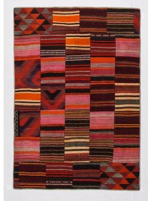 Patchwork Kelim teppich 241x168 cm