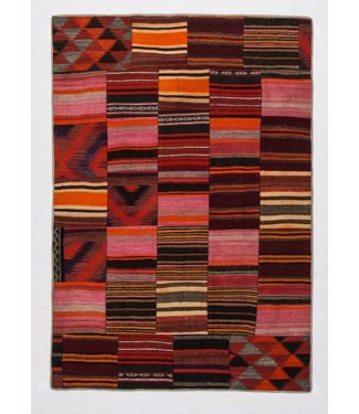 Patchwork Kilim carpet 241x168 cm